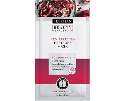 Revitalizační slupovací maska Granátové jablko a peptidy Beauty Infusion (Revitalizing Peel-Off Mask) 15 ml