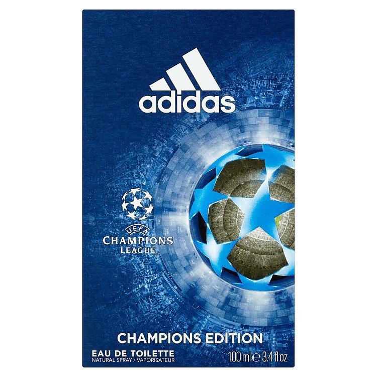 Fotografie Adidas UEFA Champions League Champions Edition toaletní voda pro muže 100 ml