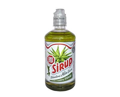 CukrStop sirup se sladidly z rostliny stévie - příchuť aloe vera Aloe Vera