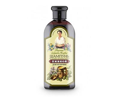 Fotografie Šampon na vlasy s pivním droždím a mydlicí pro muže 350 ml