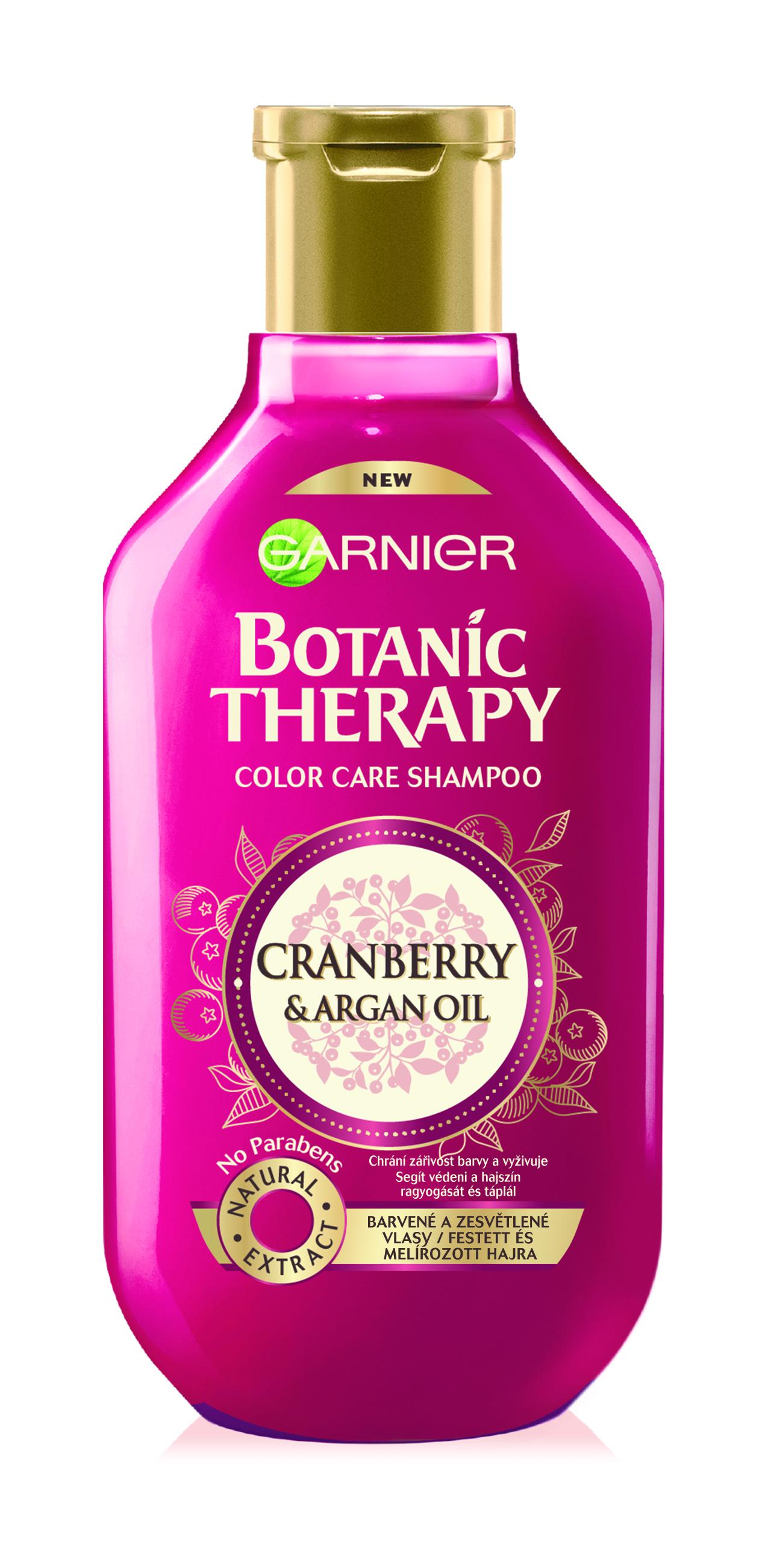 Garnier Botanic Therapy Cranberry & Argan oil šampon 250 ml