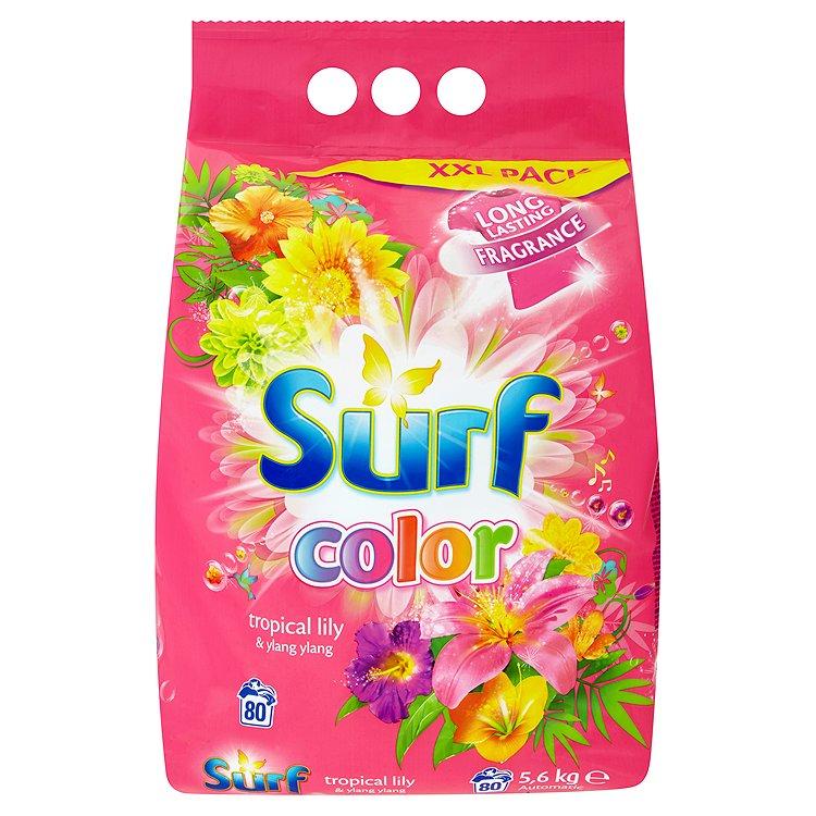 Surf Color Tropical prášek na praní, 80 praní 5,6 kg