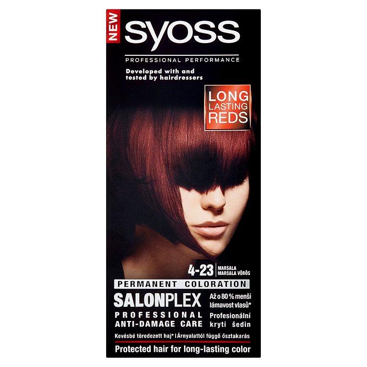 Syoss barva na vlasy Marsala 4-23, 50 ml