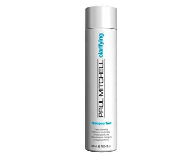 Hloubkově čisticí šampon pro mastné vlasy Clarifying (Shampoo Two Deep Cleansing) 1000 ml