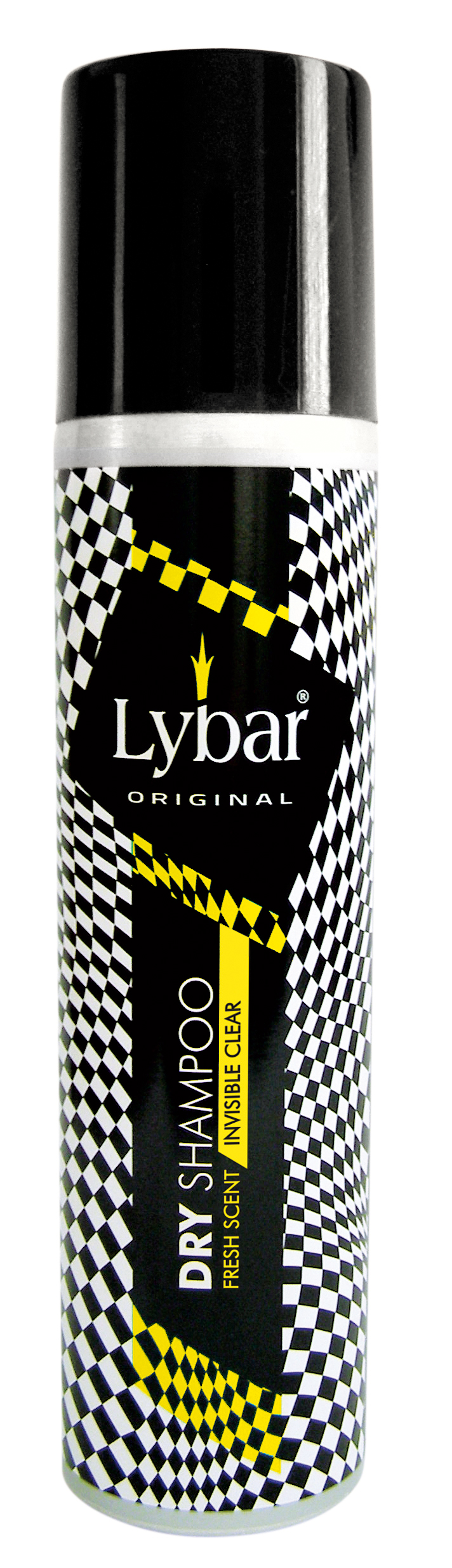 Lybar Original Fresh Scent suchý šampon Invisible clear, 250 ml