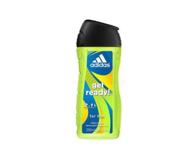 Fotografie Adidas Sprchový gel pro muže na tělo i vlasy Get Ready! (Shower gel)