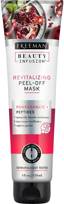 Freeman Beauty Infusion revitalizační slupovací maska Granátové jablko a peptidy, 118 ml