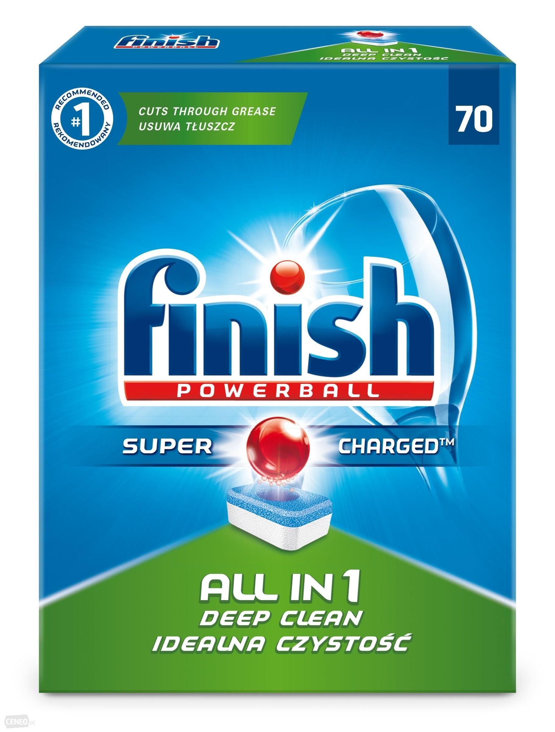 Finish All in 1 tablety do myčky nádobí 70 ks