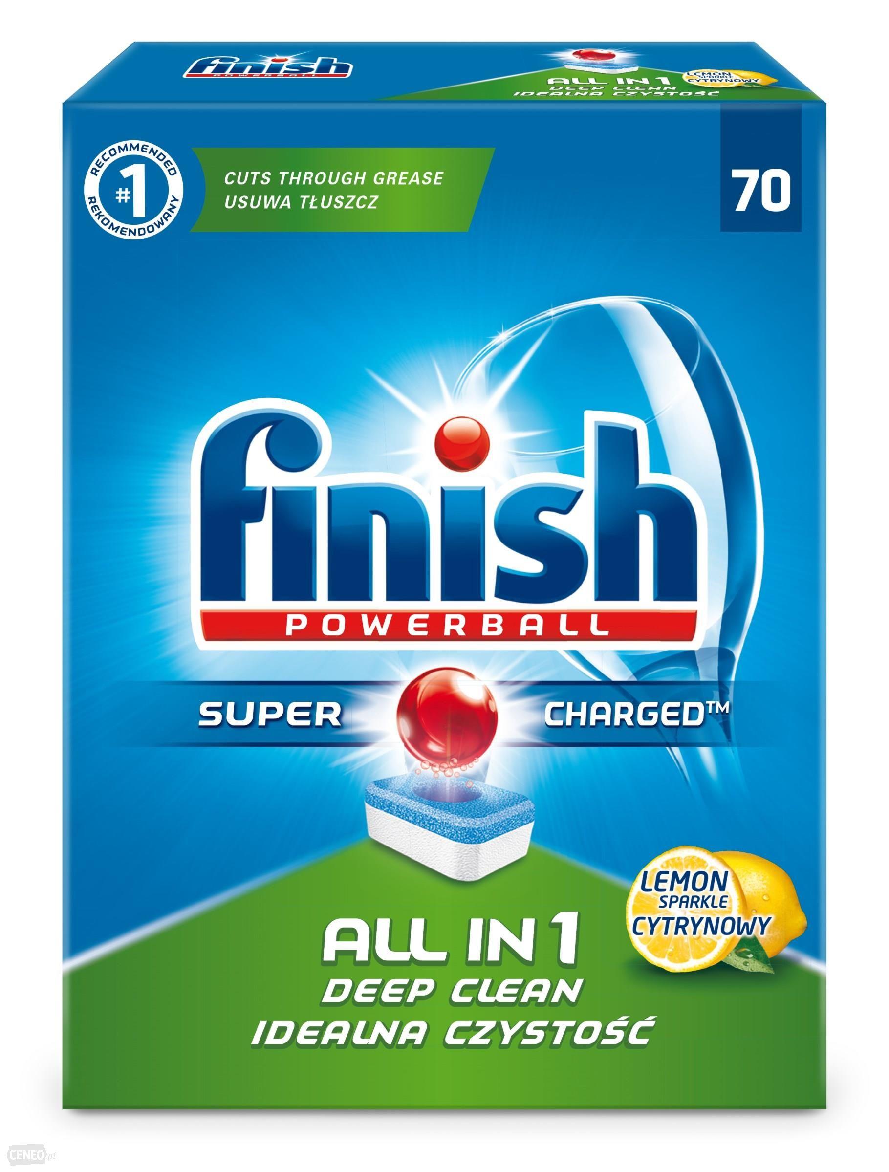 Finish All in 1 Lemon tablety do myčky nádobí 70 ks