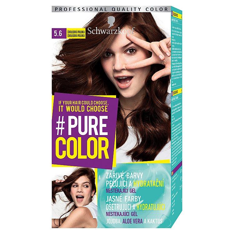 Schwarzkopf Pure Color barva na vlasy Čokoládová Pralinka 5.6, 60 ml