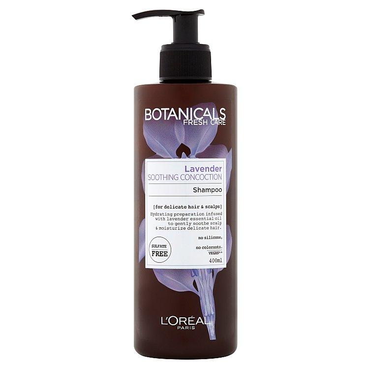 Fotografie Šampon pro citlivou pokožku hlavy Botanicals Lavender (Shampoo) 400 ml