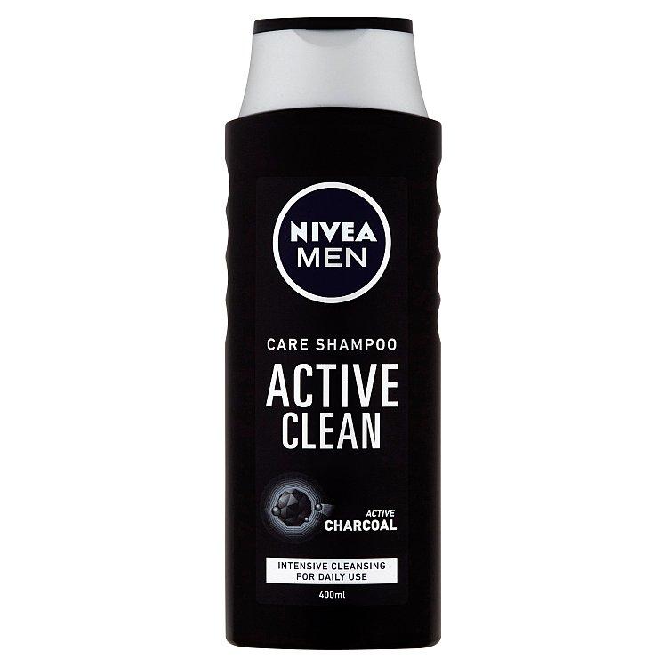 Fotografie Nivea Men Active Clean šampon pro muže 400 ml