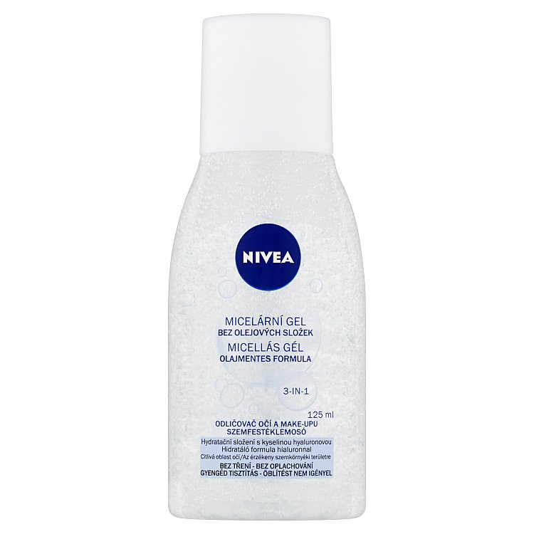 Nivea čisticí micelární gel 125 ml