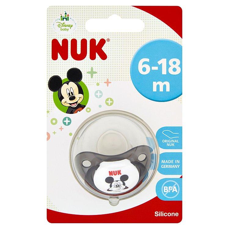 Fotografie NUK dudlík Disney Mickey silikon, velikost 2, 6–18 měsíců