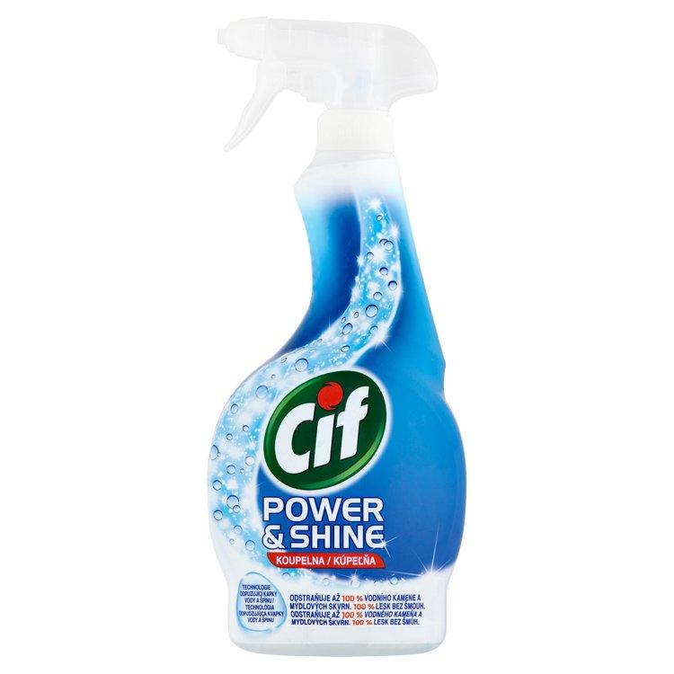 Fotografie Cif Power&Shine koupelna čistící sprej 500 ml