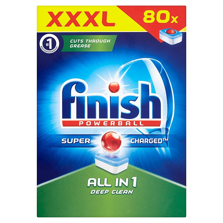 Finish All in 1 tablety do myčky nádobí 80 ks
