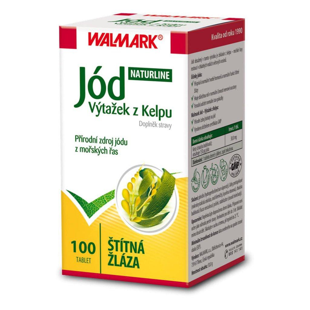 Fotografie Walmark Jód Naturline 100 tablet