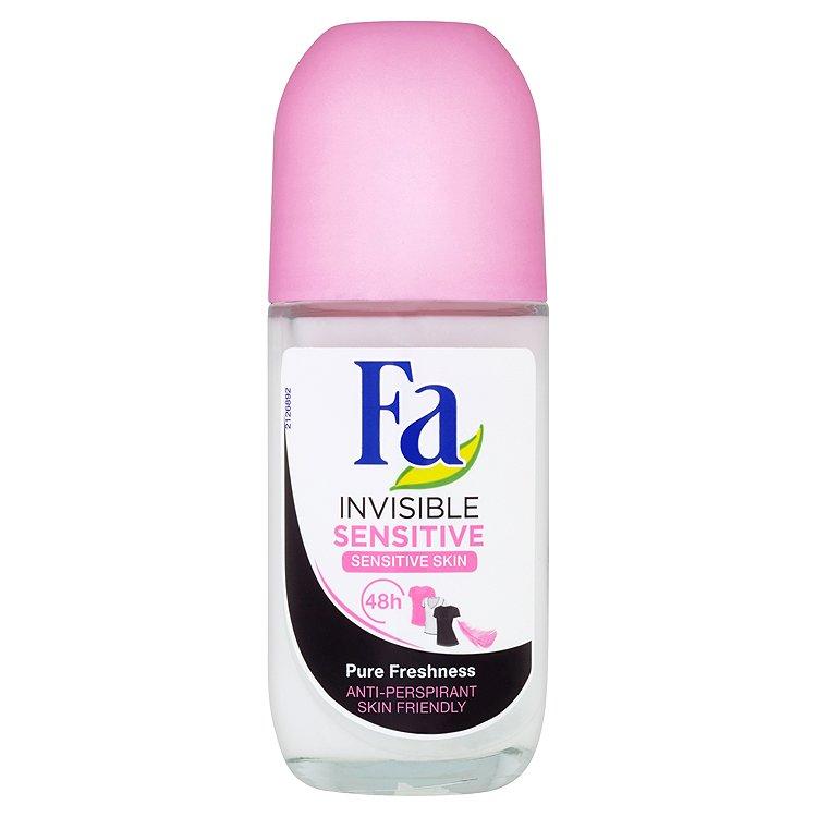 Fa Invisible Sensitive Pure Freshness kuličkový antiperspirant 50 ml