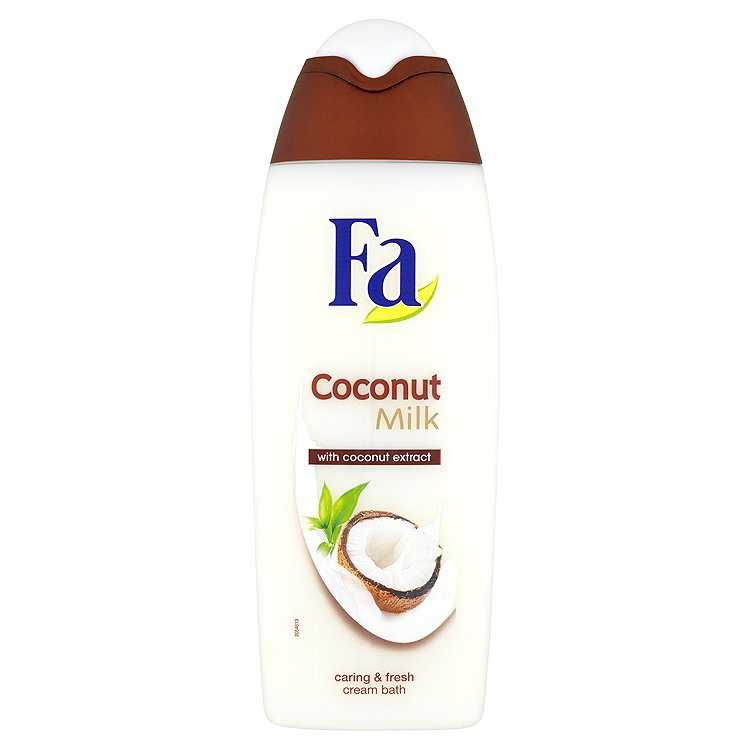 Fotografie Fa Coconut Milk pěna do koupele s přírodním extraktem z kokosu 500 ml