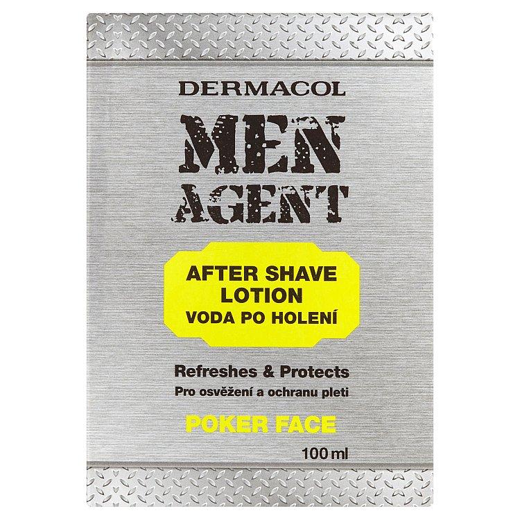 Fotografie Dermacol Men Agent Poker Face voda po holení 100 ml