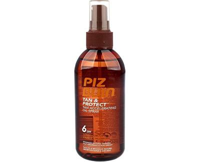 Piz Buin Tan & Protect SPF 6 ochranný olej ve spreji urychlující proces opalování 150 ml