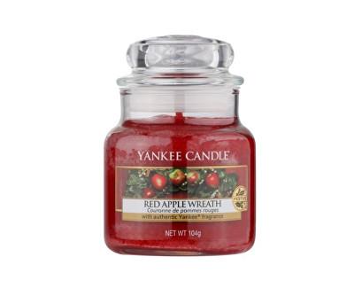 Yankee Candle Classic malý vonná svíčka Věnec z červených jablíček, 104 g