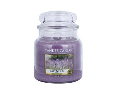 Yankee Candle Classic střední vonná svíčka Levandule, 411 g