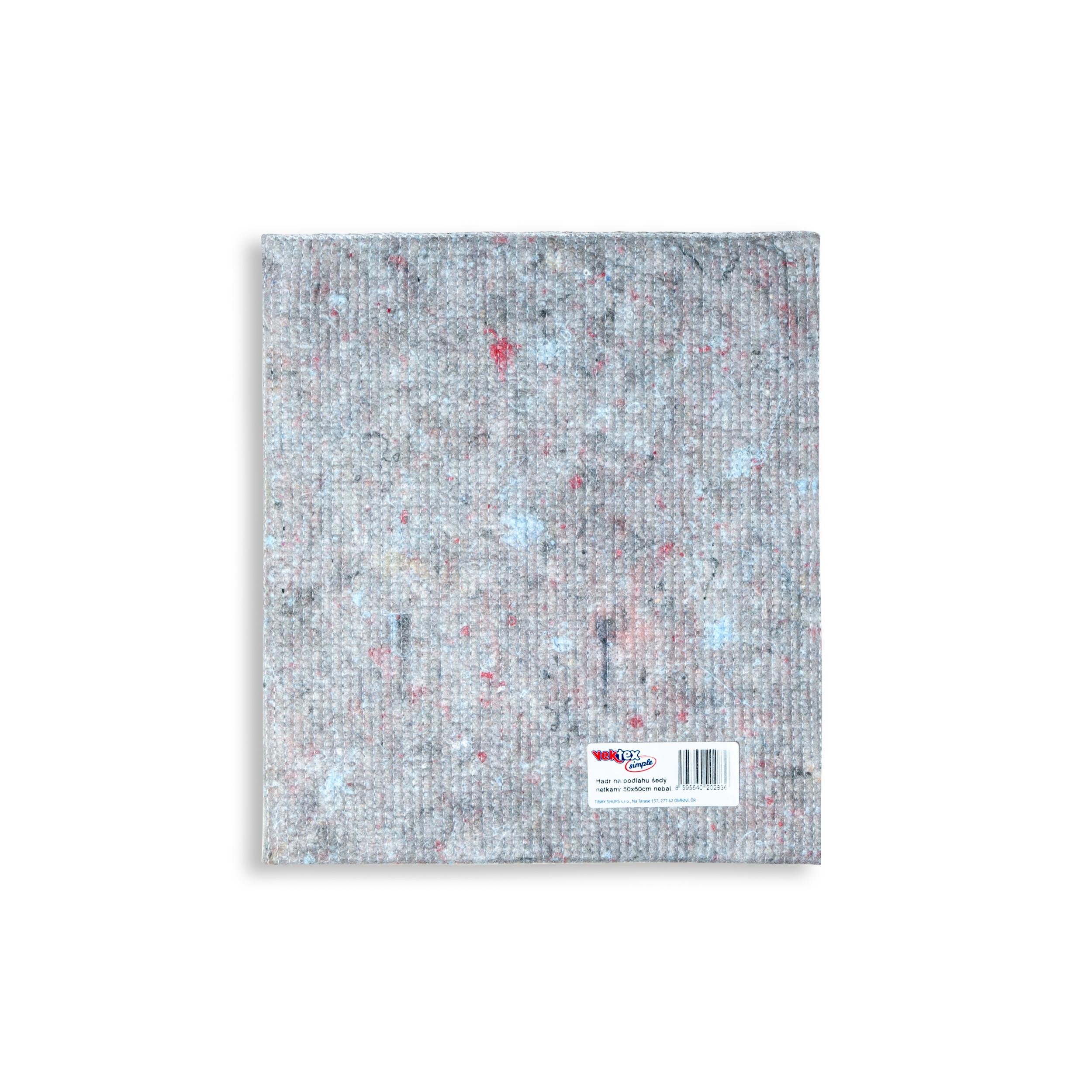 Vektex Simple hadr na podlahu netkaný 50 x 60 cm šedý nebalený
