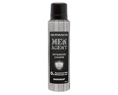 Fotografie Dermacol Deodorant pro muže Men Agent Intensive Charm 150 ml