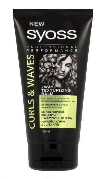Syoss Curls & Waves bezoplachový balzám pro vlnité vlasy 150 ml