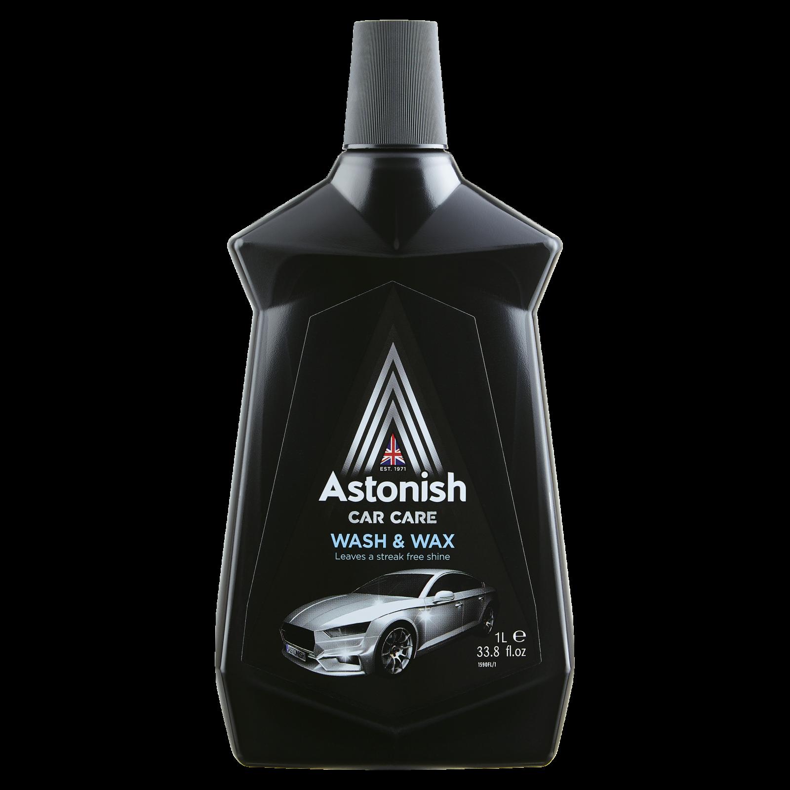 Fotografie Astonish Wash & Wax - autošampón svoskem 1000 ml