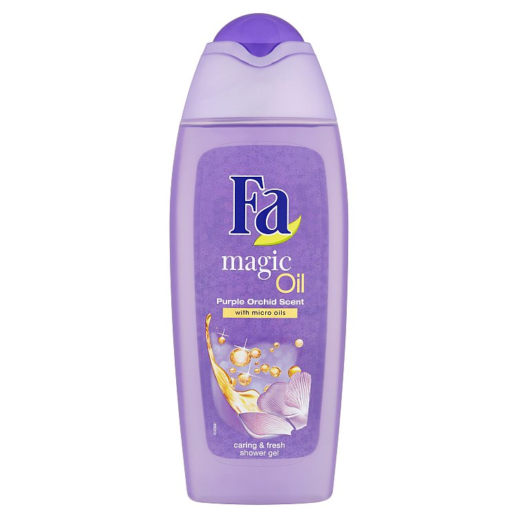 Fa Magic Oil sprchový gel s vůní fialové orchideje 400 ml