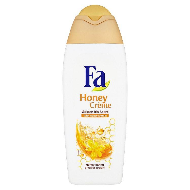 Fa Honey Crème sprchový krém s vůní žlutého kosatce a výtažkem z medu 400 ml
