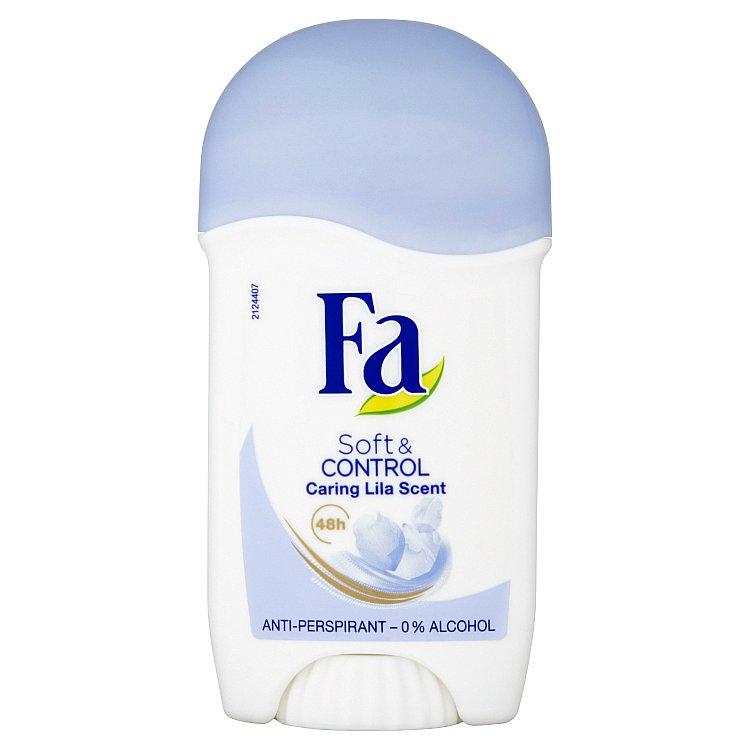 Fa Soft & Control Caring Lila tuhý antiperspirant 50 ml