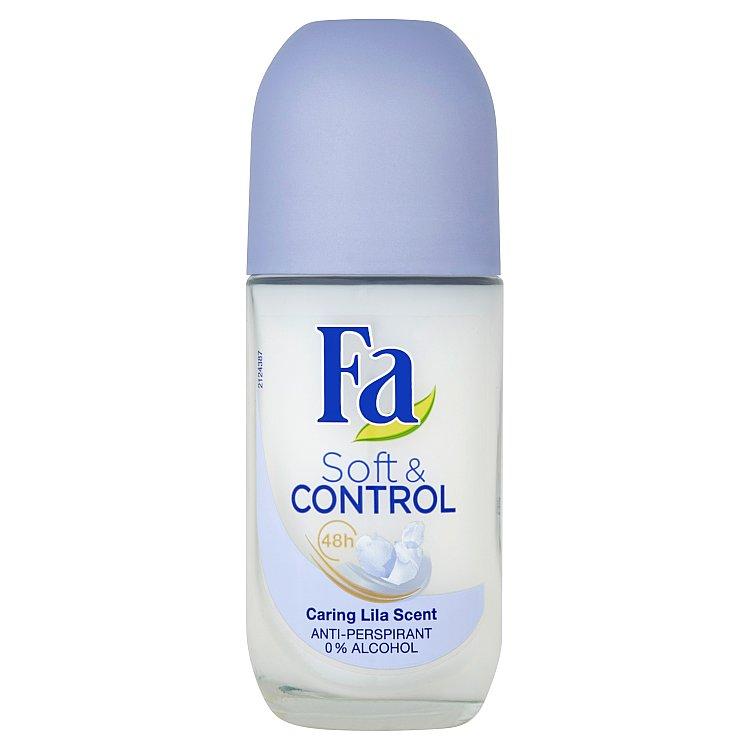 Fa Soft & Control Caring Lila kuličkový antiperspirant 50 ml