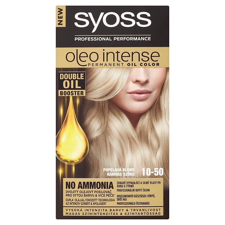 Syoss Oleo Intense olejová barva 10-50 Světlá popelavá blond 3900e7ad092