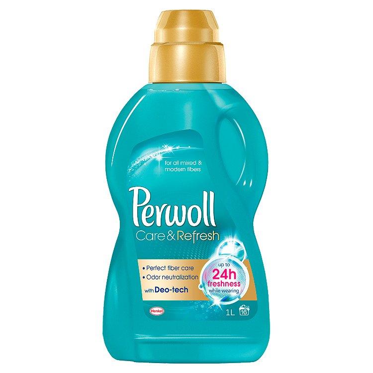 Fotografie Perwoll Care & Refresh prací prostředek, 16 praní 1000 ml