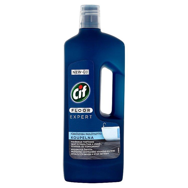 Fotografie CIF Floor Expert Koupelna přípravek na podlahy 750 ml