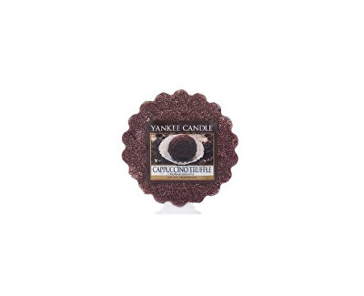 Yankee Candle Vonný vosk Cappuccino Truffle, 22 g