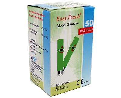 Fotografie Proužky EasyTouch-glukóza 50ks