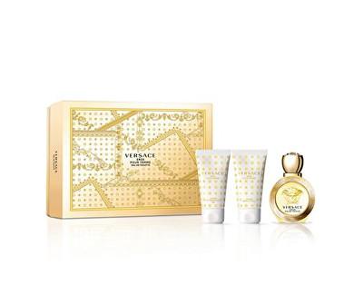Eros Pour Femme - EDT 50 ml + sprchový gel 50 ml + tělové mléko 50 ml