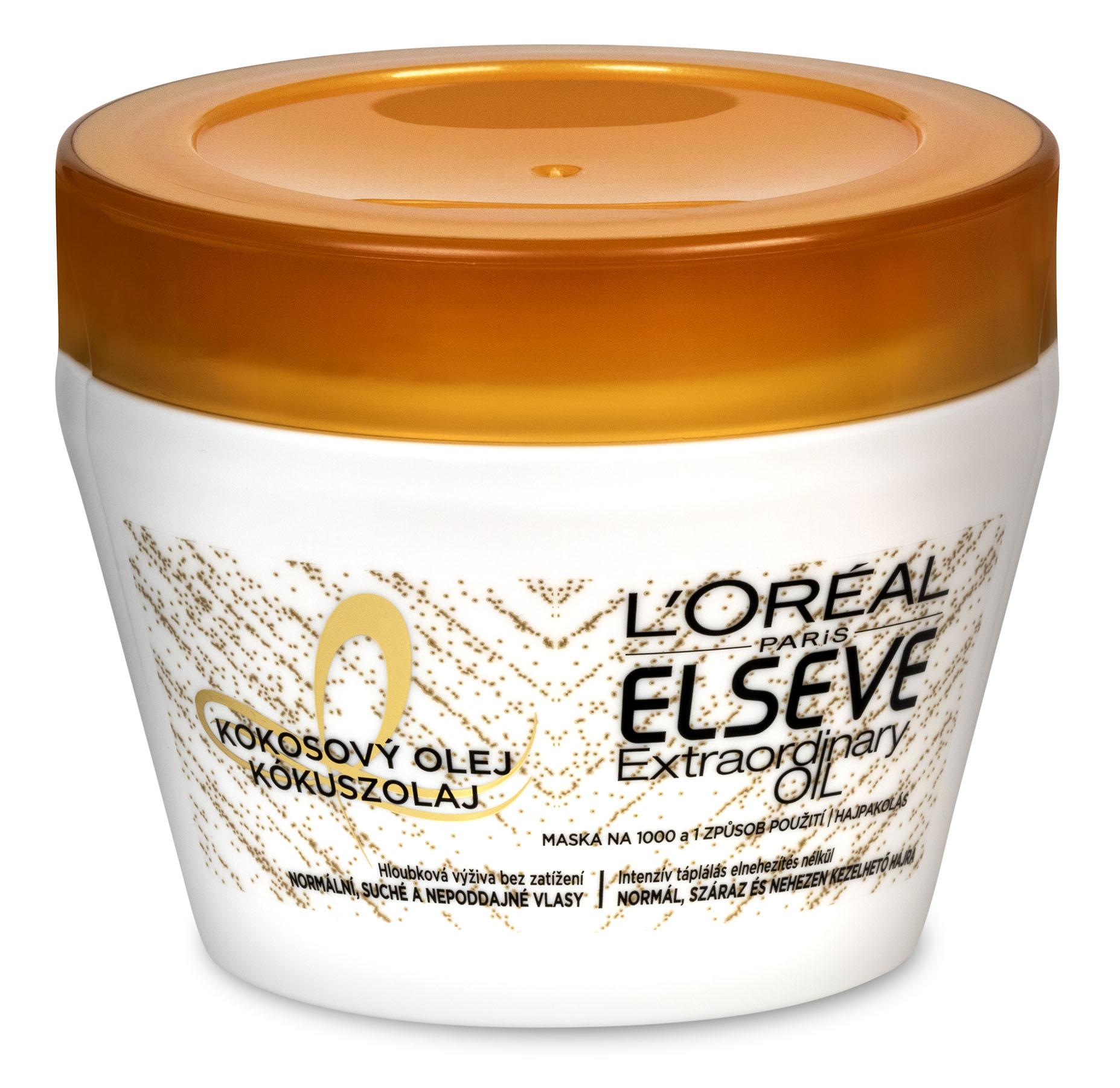 L'Oréal Paris Elseve Extraordinary Oil vyživující maska na vlasy 300 ml