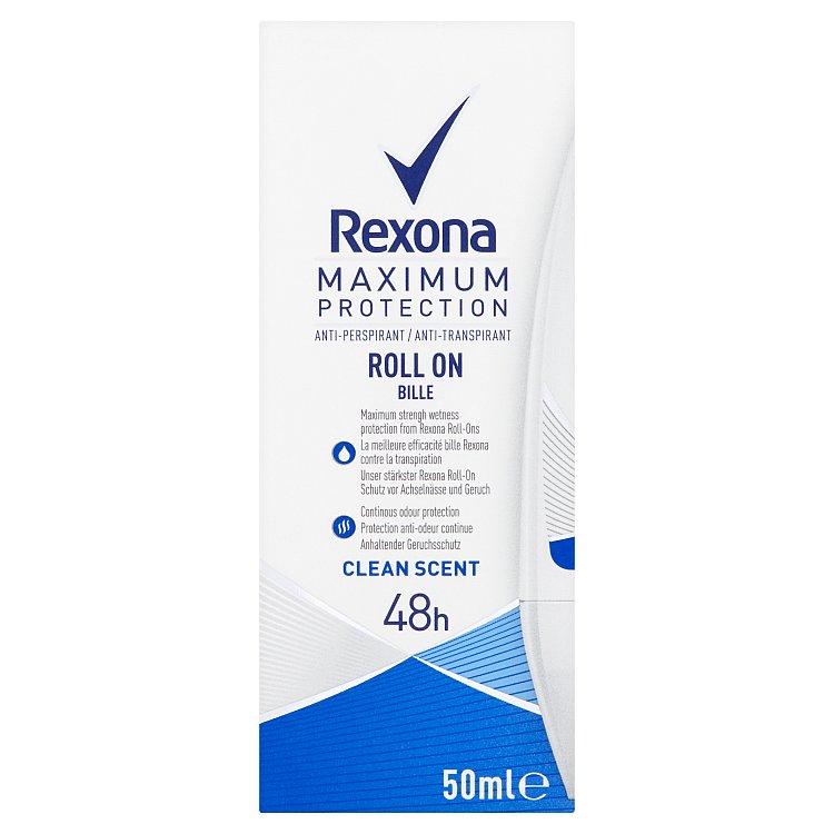 Fotografie Rexona Clinical CLEAN SCENT kuličkový antiperspirant 50 ml