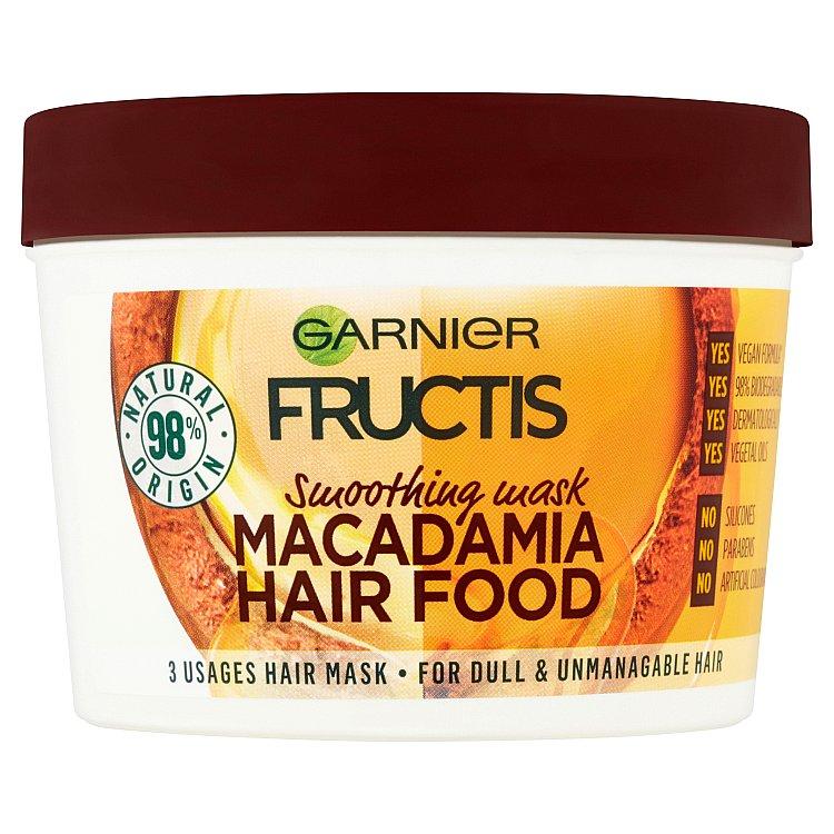 Garnier fructis macadamia hair food 390 ml levně  c5a64581441