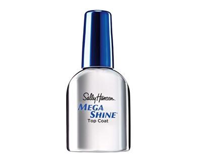 Rychleschnoucí lak pro super lesk nehtů Mega Shine (Top Coat) 12,7 ml