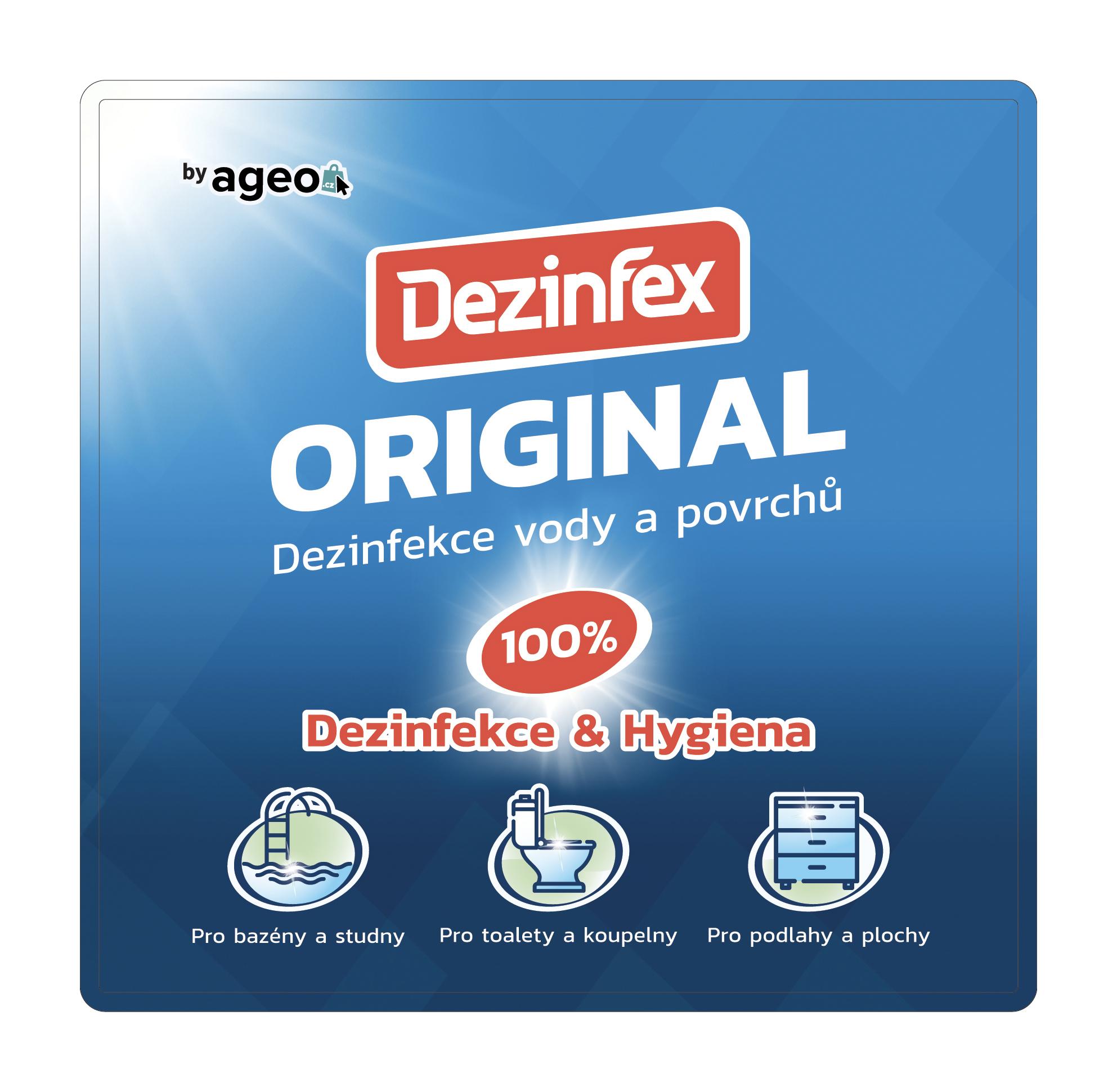 Dezinfex Original dezinfekční a čisticí prostředek 1 l