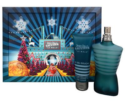 Jean P. Gaultier Le Male - EDT + sprchový gel 125 ml + 75 ml