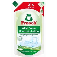 Fotografie Frosch EKO Prostředek na mytí nádobí s Aloe vera – náhradní náplň 800 ml