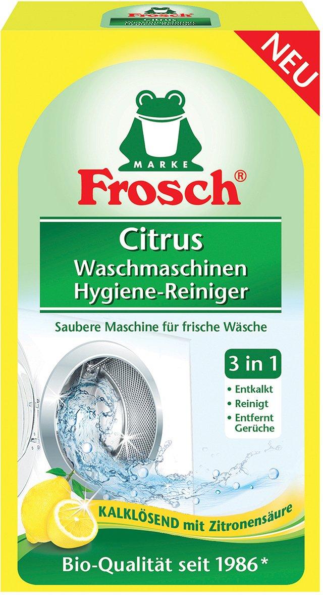 Frosch EKO hygienický čistič pračky citron 250g