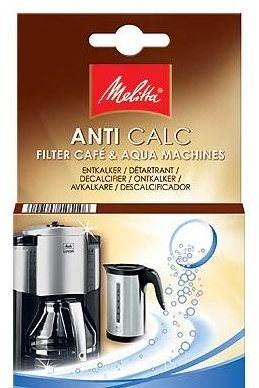 Melitta Anti Calc odvápňovač pro kávovary a rychlovarné konvice v tabletách 4x 12 g